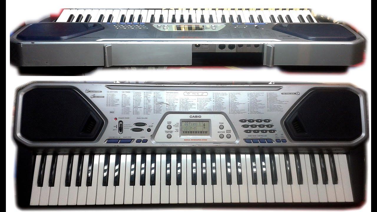 CASIO CTK 491 MIDI DESCARGAR DRIVER