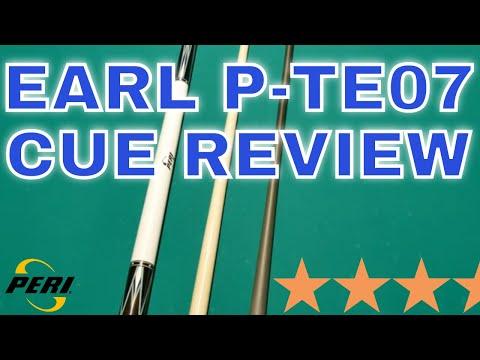 2021 Pool Cue Review: Peri Earl P-TE07