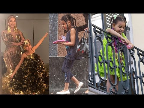 Beyonce and Jay Z's Daughter - 2018 (Blue Ivy Carter)