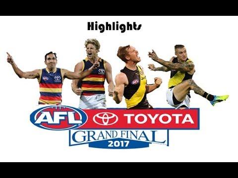 Adelaide vs Richmond 2017 Grand Final Highlights
