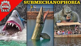Top 10 TERRIFYING Undeŗwater Animatronics - SUBMECHANOPHOBIA