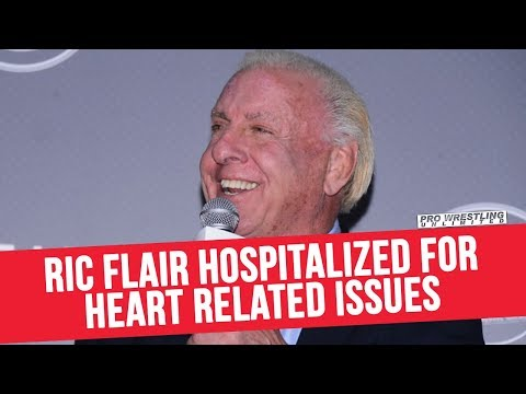 Ric Flair Hospitalized For Heart Related Issues; Currently In ICU