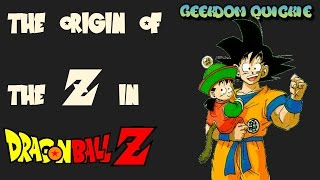 What does the Z in Dragonball Z mean?