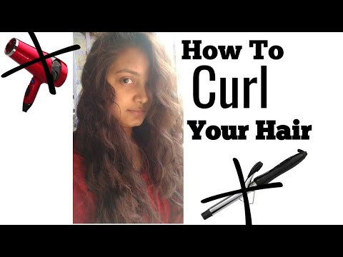 Curl Your Hair without Heat | | Koyel Decode