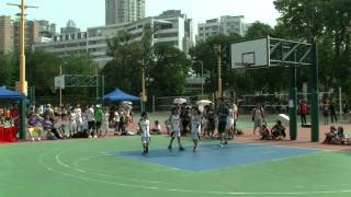 開心三人籃球賽 2014 林金殿 1 VS 田千二隊