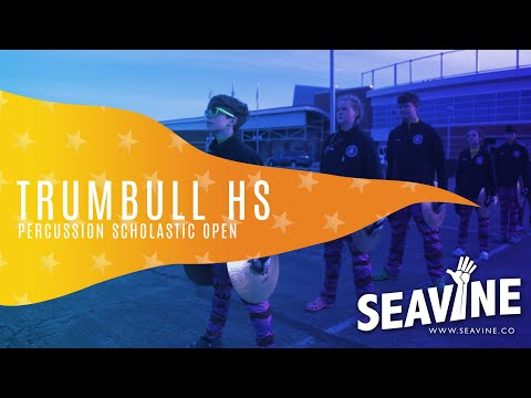 Trumbull High School Cymbal Line 2019 Finals- In the Lot with Seavine
