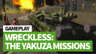 Wreckless: The Yakuza Missions (Xbox) Completing Mission A-1 in under 10 secs in the Tank!