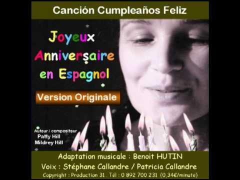 joyeux anniversaire en espagnole