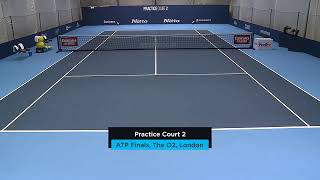 2019 Nitto ATP Finals: Live Stream Practice Court 2 (Thursday)