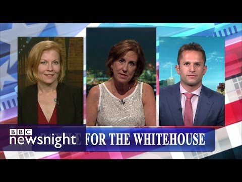 Battle for the White House: Ana Marie Cox and Josh Barro - BBC Newsnight