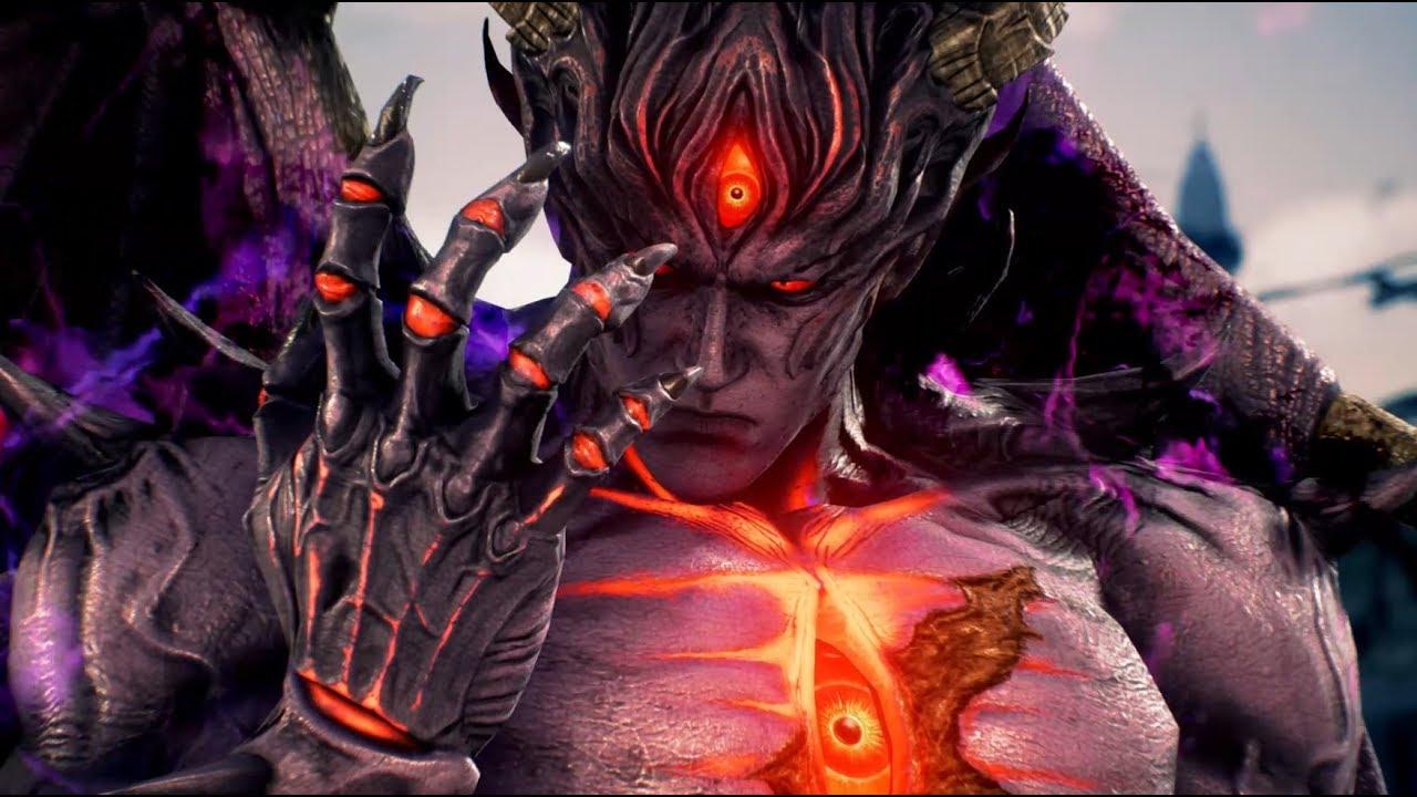 Tekken 7 Devil Kazuya Arcade Mode Gameplay Youtube