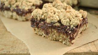 Oatmeal Fudge Bar Recipe   Radacutlery.com