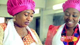 Abimbola Aishat Omoge Campus Prepares Fresh Fish and Crab Soup on Olowosibi