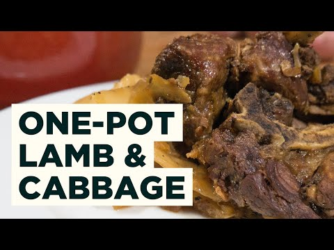 How To Cook Norwegian Lamb And Cabbage Stew - Fårikål