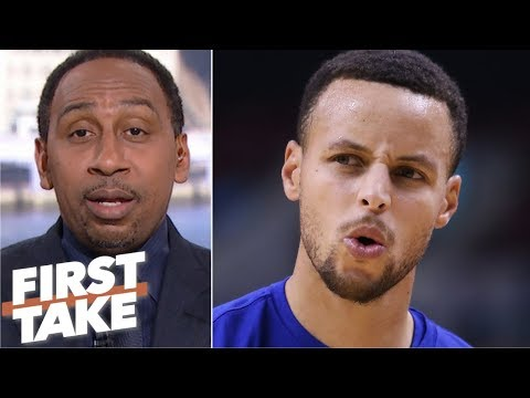 Stephen A.鈥檚 choice of Steph Curry over Magic Johnson sparks a heated debate | First Take