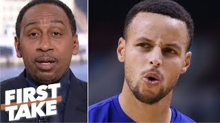 Stephen A. chooses Steph Curry over Magic Johnson& sparks a heated debate | First Take