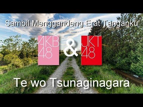 [VIDEO MUSIC] AKB48 with JKT48  - Te wo Tsunaginagara ~~ Sambil Menggandeng Erat Tanganku {Battle}