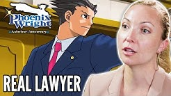 Real Lawyer Goes To Court in Phoenix Wright: Ace Attorney • Professionals Play