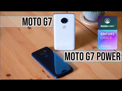 Moto G7 and