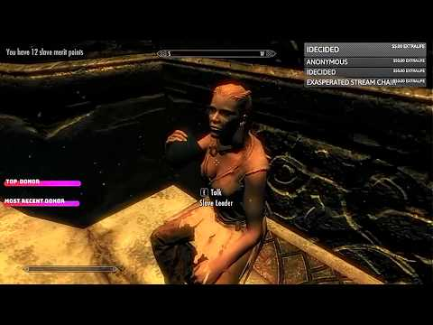 Ep. 1 - Roughly 40 Minutes a Slave - Modded Skyrim Playthrough