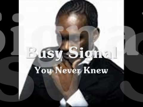 You Never Knew-Busy Signal Silver Plate Riddim (The Guvenor)