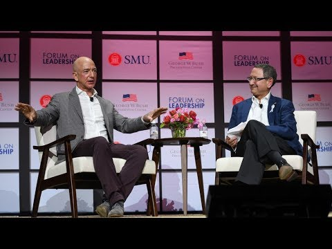 Forum on Leadership: A Conversation with Jeff Bezos
