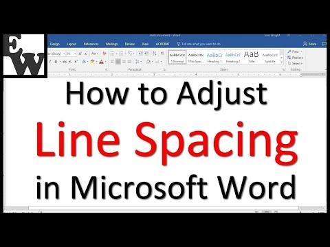 How To Adjust Line Spacing In Microsoft Word - How To Edit Table Spacing In Word