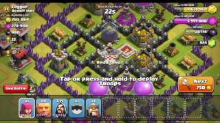 CLASH OF CLANS - SUPER ORIGINAL LETS PLAY #7 GEMMING TO MAX BASE + ALL WIZARD RAID