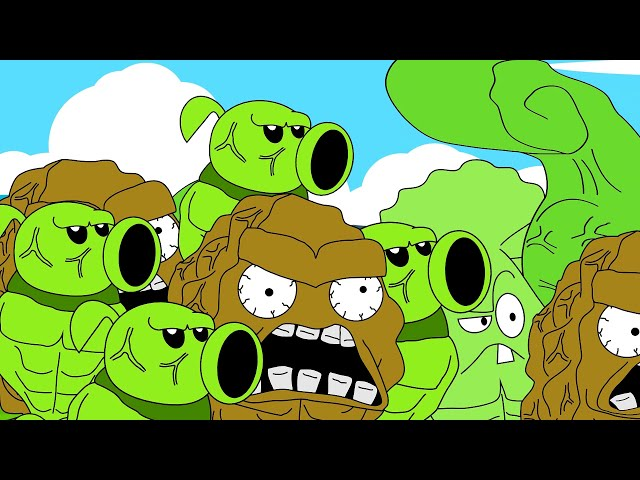 Plants vs Zombies Not Heroes Animation