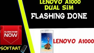 flashing lenovo a1000 - vidbyte