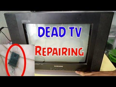 Samsung Ultra Slim Dead CRT TV Repairing