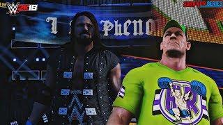 WWE 2K18 Survivor Series 2017 Trajes: AJ Styles w/ Campana de Animación y John Cena w/ Gorro y Toalla (Mods)