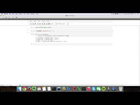 1  Opening a netCDF file in Python - YouTube