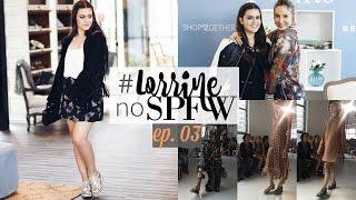 Desfile IODICE & Mesa redonda com Cláudia Leitte - #LorrineNoSPFW EP. 03 | Lorrine Vlog