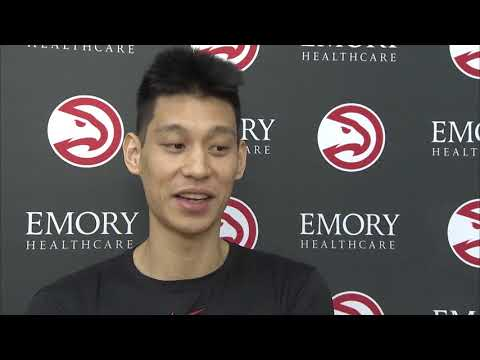 Jeremy Lin getting back up to speed at Hawks training camp