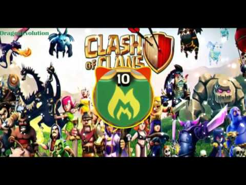 Clash Of Clans 2017 Remix EDM By Peter Wu Dj