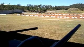 Shockwave Remington 700 xcr 308 with Hinterland Shooting supplies muzzle brake