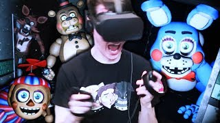 FNAF 2 IN VR IS TERRIFYING! || Five Nights at Freddy's VR: Help Wanted Part 2