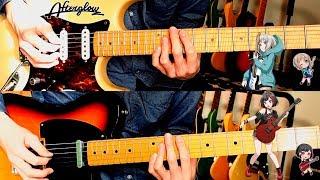 【 Afterglow 】 Y.O.L.O!!!!! ギター 弾いてみた 【 バンドリ! 】
