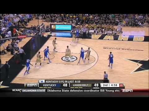 01/10/2013 Kentucky vs Vanderbilt Men