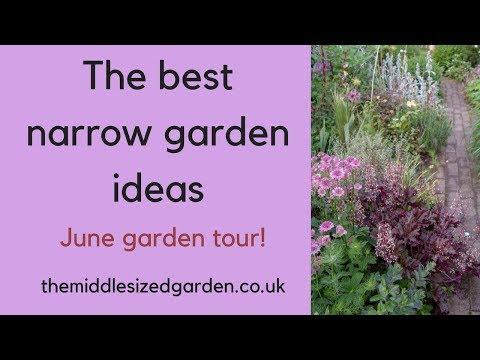 The Best Narrow Garden Ideas Make Your Garden Look Bigger Youtube