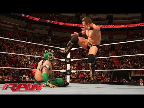 Kalisto vs. The Miz: Raw, January 25, 2016