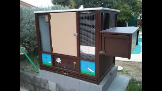 Drop Trap With Latch for Kitbox Pigeon Loft