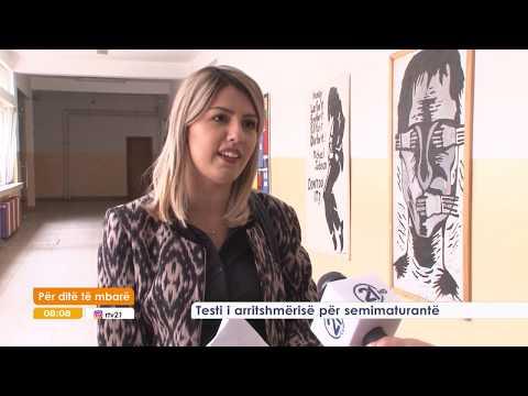 TESTI I ARRITSHMERISE PER SEMIMATURANTE 30.05.2017