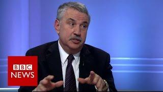 'He can make you crazy' Thomas Friedman on Donald Trump   BBC News