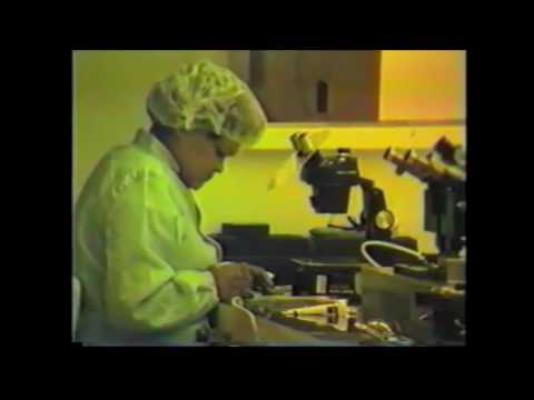 How Computer Chips are made - Commodore Computer Factory Tour - German 1984 MOS, PET, CBM2, 6510