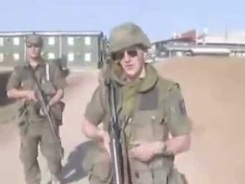 """Norwegian Soldiers Lip Sync to """"Kosovo"""" - MUST SEE! [CC]"""