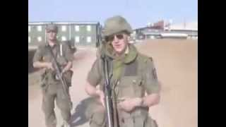 Norwegian Soldiers Lip Sync to