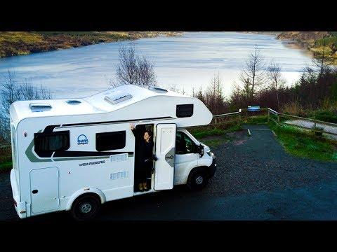 Bunk Campers | Highlands, Castles, Landscapes & Cows! | Motorhome Hire Scotland