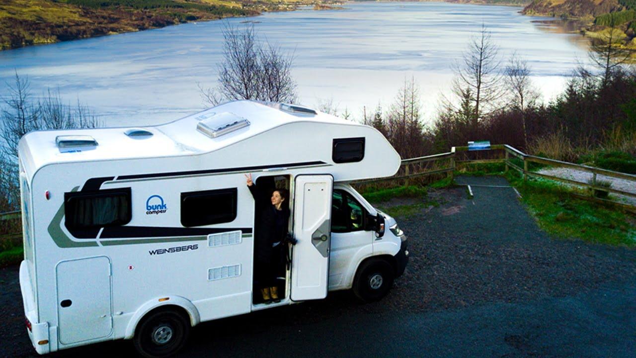 Bunk Campers | Campervan Hire Scotland | Motorhome Hire
